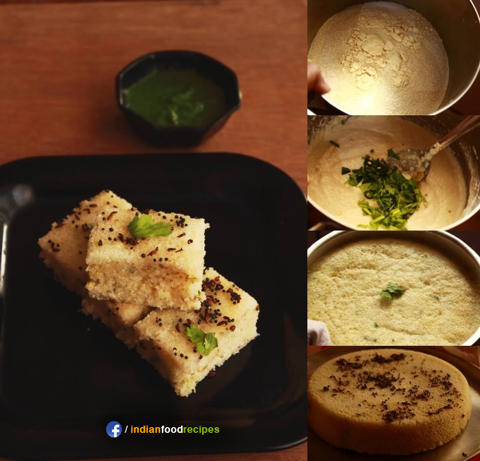 Sooji Ka Dhokla / Rava Dhokla recipe step by step