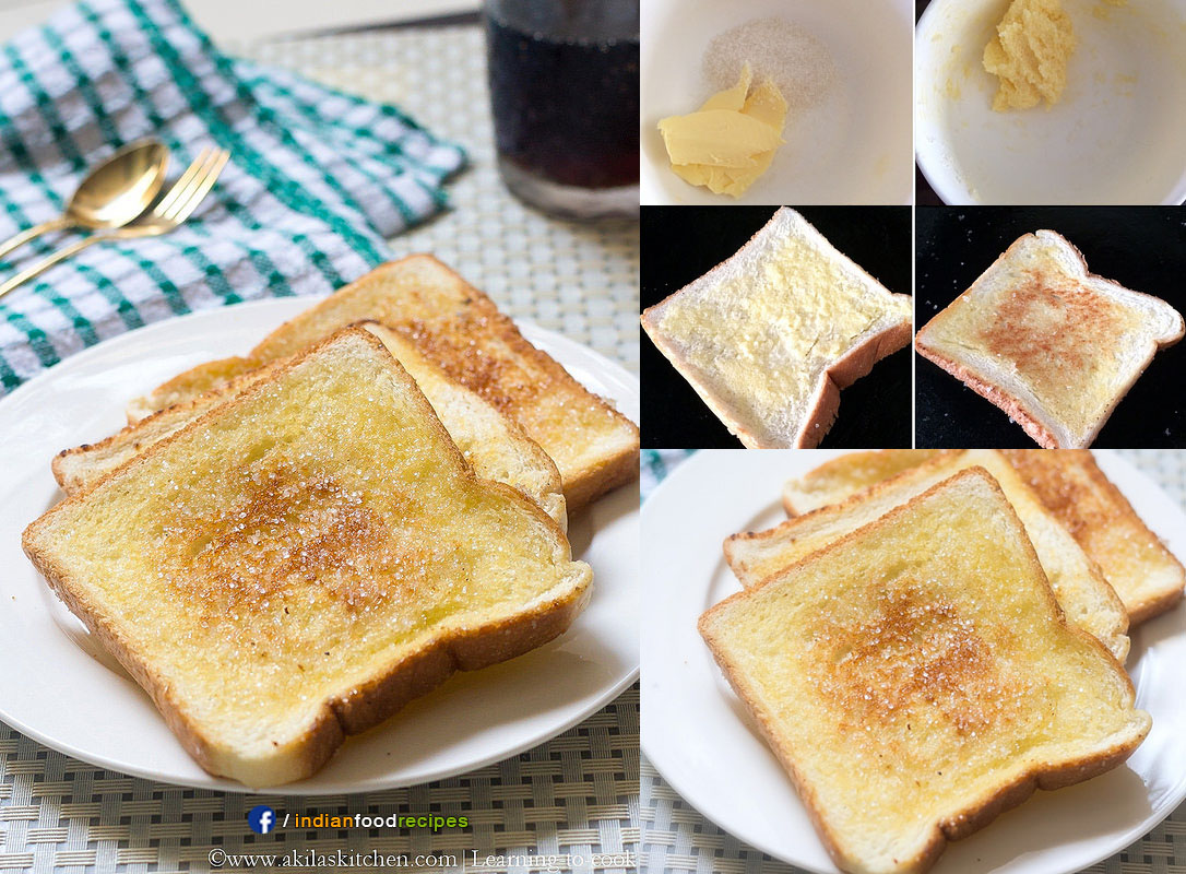 Sugar Bread Toast recipe step by step