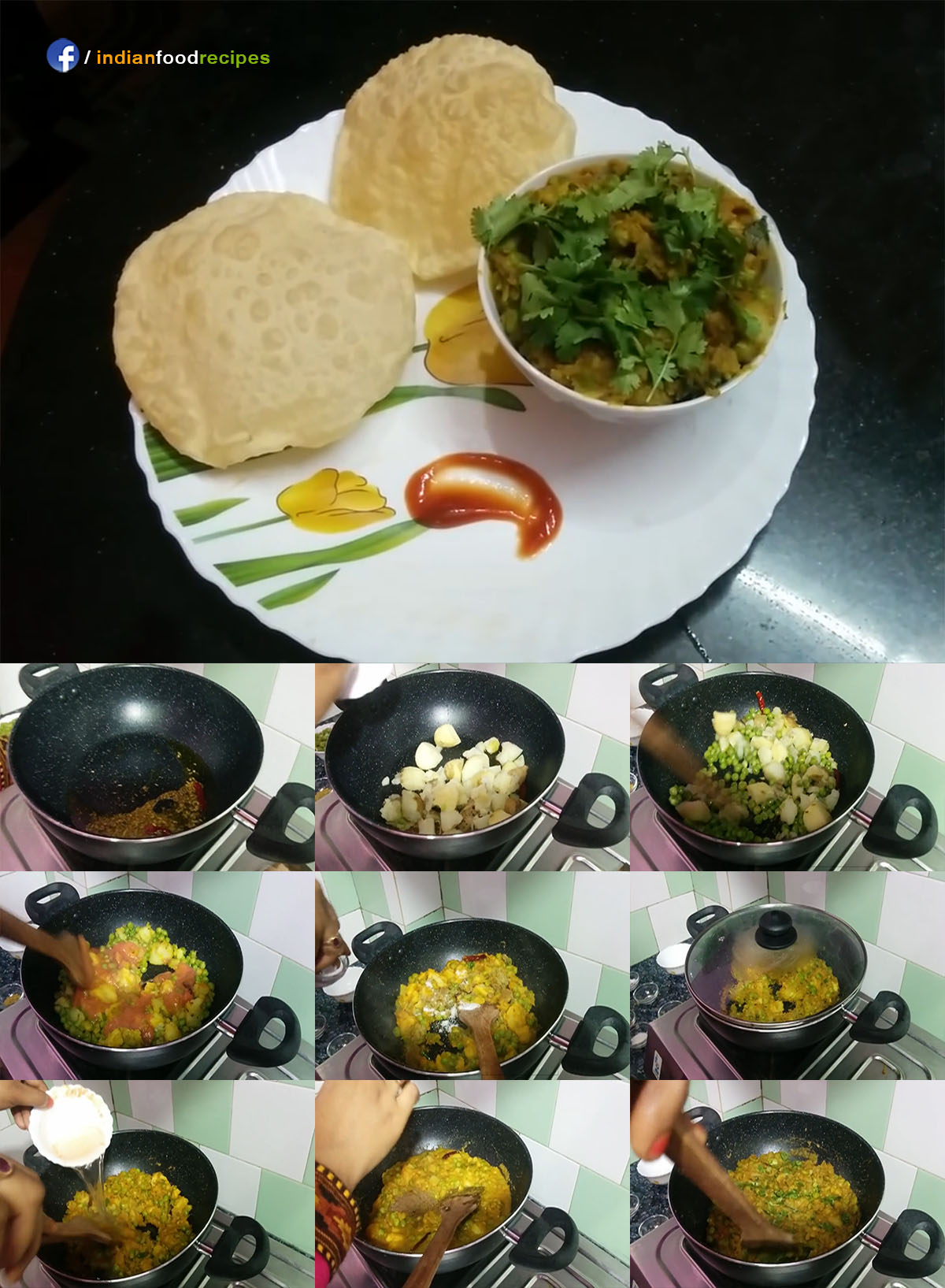 Potato Peas Curry | Aloo Matar Ki Sabji recipe step by step