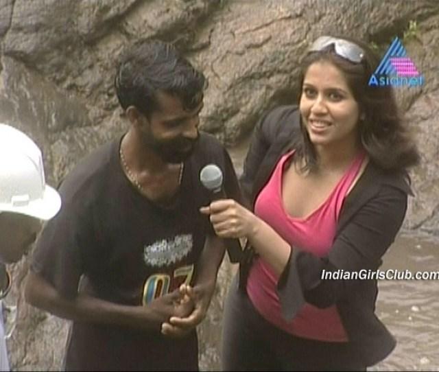 Malayalam Tv Anchor Ranjini Haridas