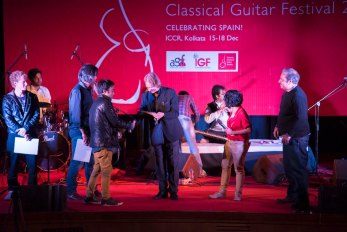 Winners of the Spanish Guitar Competition 2016