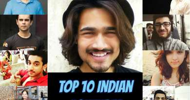 Top 10 Indian Youtuber