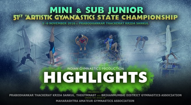 HIGHLIGHTS | 51st Mini & Sub Jr. Maharashtra State Championship 2016