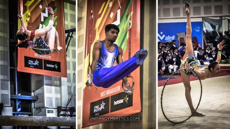 Khelo India School Games Gymnastics 2018   Photo Album and Results