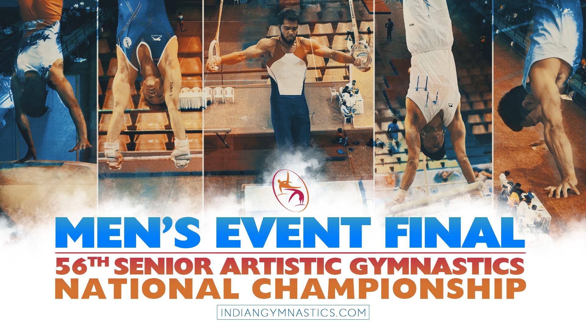 Men's Event Final | 56th Artistic Gymnastics National Championship Surat 2018
