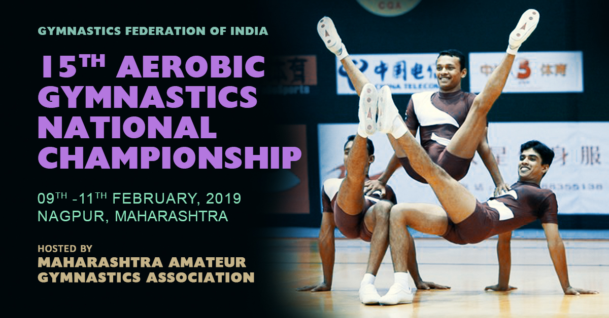 15th Aerobic Gymnastics National Championship 2019 | Results