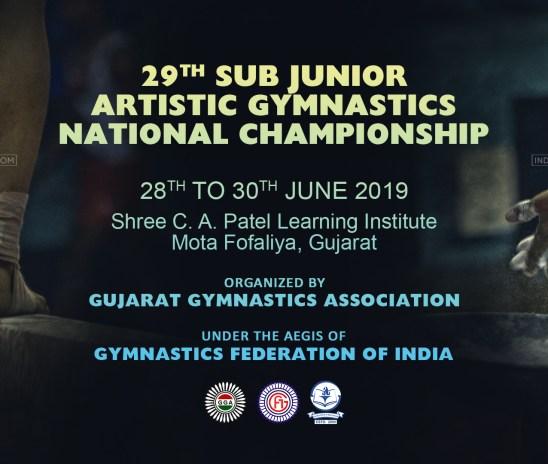 29th Sub Junior Artistic Gymnastics National Championship