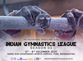 Bigger, better and the finest it has ever been! Indian Gymnastics League Season 03