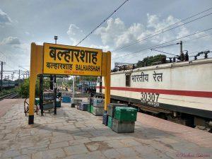 balharshah railway station