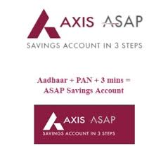 How To Open Axis ASAP Digital Saving Bank Account Online
