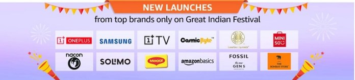 amazon great indian sale 2019 new launches