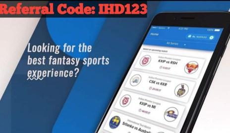 BalleBaazi Referral Code: IHD123, Play Fantasy Cricket & Earn Real Cash