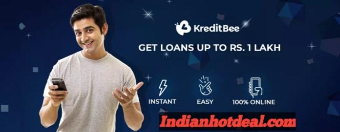 Best Online Loan Apps In India Kredit bee at top 1