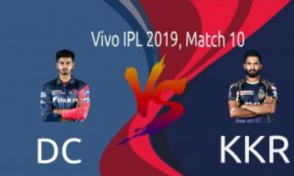 IPL 2019 10th Match: DC vs KKR Dream11 Team Prediction & Playing XI