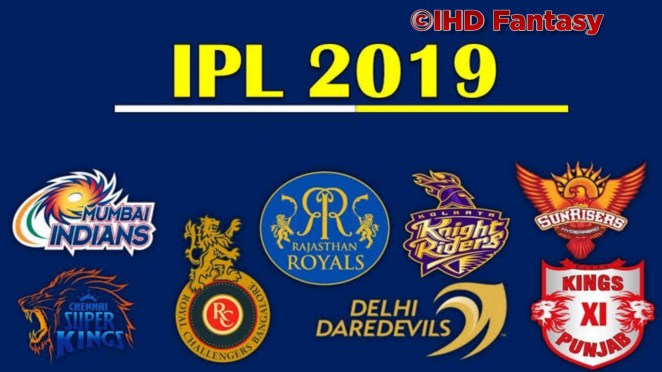 VIVO IPL 2019 | Match Schedule, Time Table, Venue, Match Results & Prediction