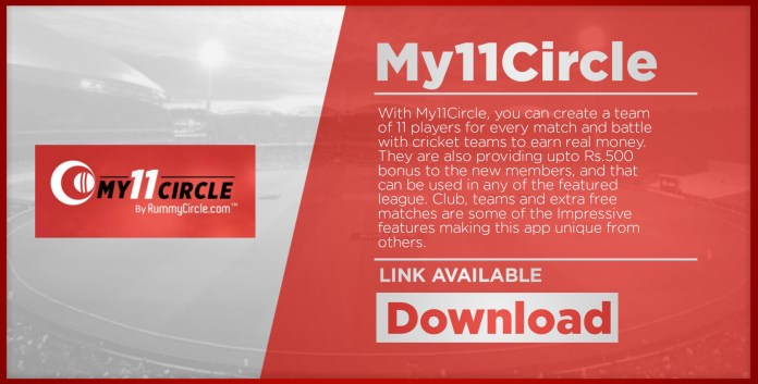 My11Circle At No 6 Fantasy Cricket App List Download