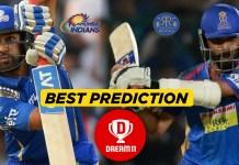 IPL 2019, MATCH 27: MI vs RR Best Dream11 team Today Prediction
