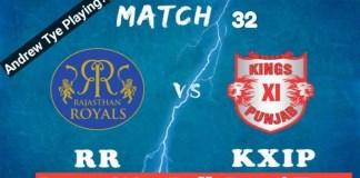 IPL 2019, 32nd Match: KXIP vs RR Best Dream11 Team Today, Prediction