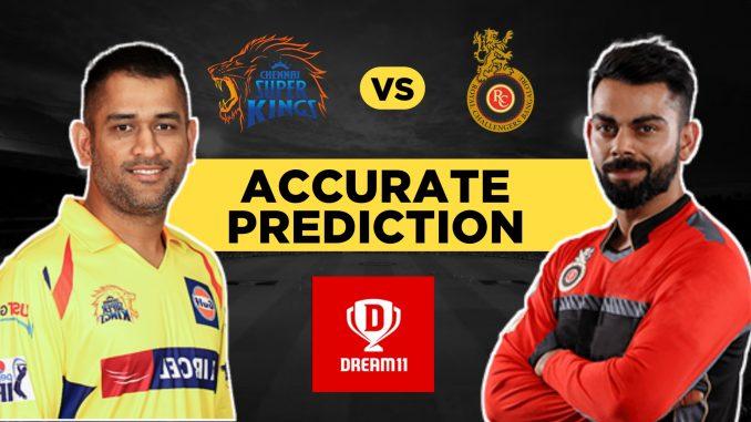 IPL 2019, 39th Match: CSK vs RCB Best Dream11 Team Today Prediction
