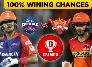 IPL 2019 - Eliminator, DC vs SRH Dream11 Team Prediction Today Match