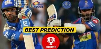 IPL 2019, 36th Match: MI vs RR Best Dream11 Team For Today, PredictionIPL 2019, 36th Match: MI vs RR Best Dream11 Team For Today, Prediction
