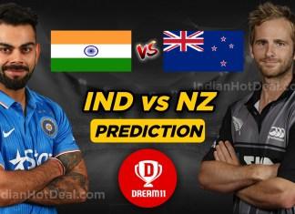 IND v NZ Dream11 Team Prediction, ICC WC 2019- 1st Semi Final Match