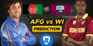 ICC WC 2019, 42nd Match: AFGvs WI Ballebaazi Team Prediction Today
