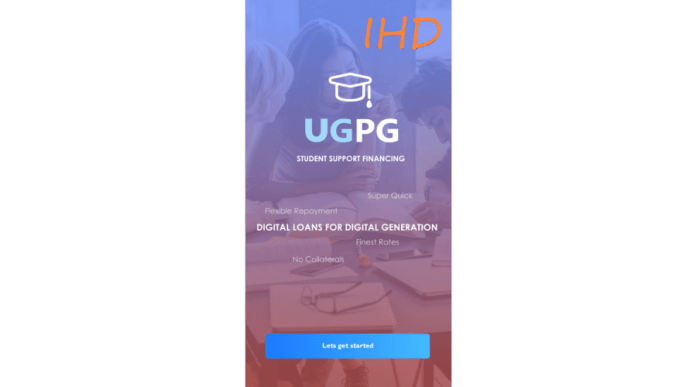 #8. UGPG- Student Loans Best Online Loan Apps Available For Students