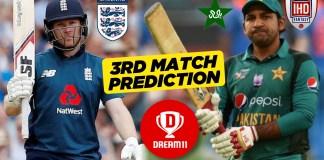 ENG vs PAK, 3rd ODI: Dream11 Prediction Today Match