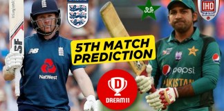 ENG vs PAK, 5th ODI: Dream11 Team Prediction Today Match, Playing XI