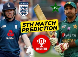 ENG vs PAK, 5th ODI: Dream11 Team Prediction Today Match, Playing XI