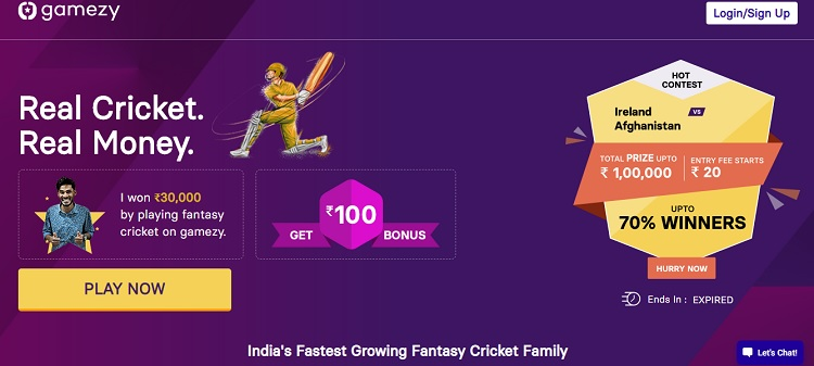 Gamezy Fantasy Apk App Download For Android Free Latest Version