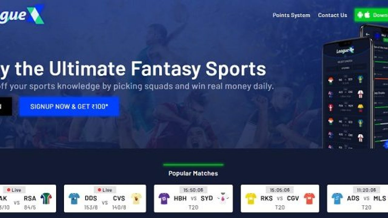 LeagueX Fantasy Apk App Download For Android Free Latest Version