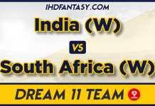 IND W vs SA W Winning Dream11 Team Prediction For 3rd ODI Match