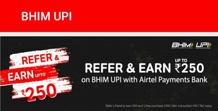 Steps To Earn Rs.50 From Airtel UPI Referral Program