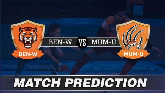 Vivo Pro Kabaddi - BEN vs MUM Team Prediction Today