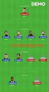 RM vs BRU Dream11 Drmo team For Todays Match