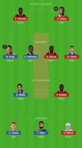 GUY vs BAR DREAM11 TEAM FOR HEAD TO HEAD