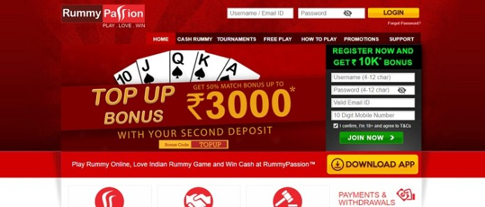 rummy passion app