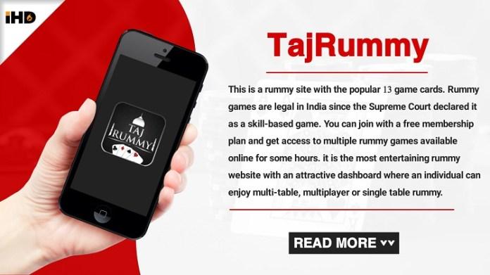 Taj Rummy Apk Download, Review, Bonus, Play Rummy & Earn Real Cash