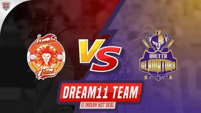 ISL vs QUE Dream11 Team Predictions 1st Match PSL 2020 (100% Winning Team)
