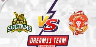 ISL vs MUL Dream11 Team Predictions 5th Match PSL 2020 (100% Winning Team)