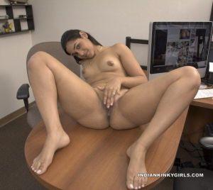 Indian secretary nude
