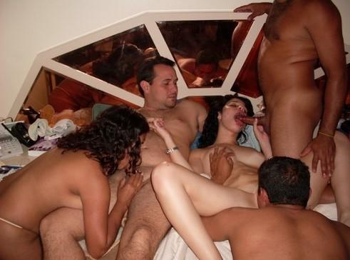 Nude orgy Video swinger