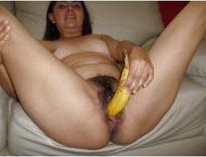 Hot Desi Wife Posing Hairy Pussy Nude And Masturbating With Banana