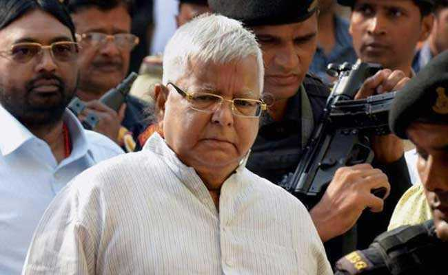 Lalu Prasad sentencing in fodder scam case postponed..