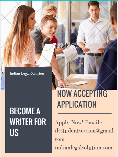 Legal Writer Wanted,Apply Now…