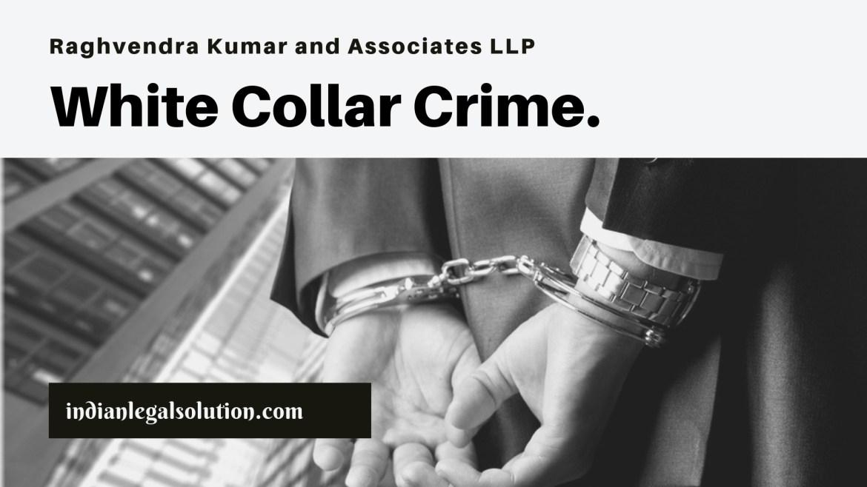 White Collar Crime.