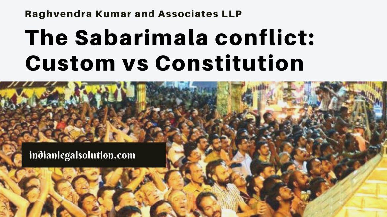 The Sabarimala conflict: Custom vs Constitution