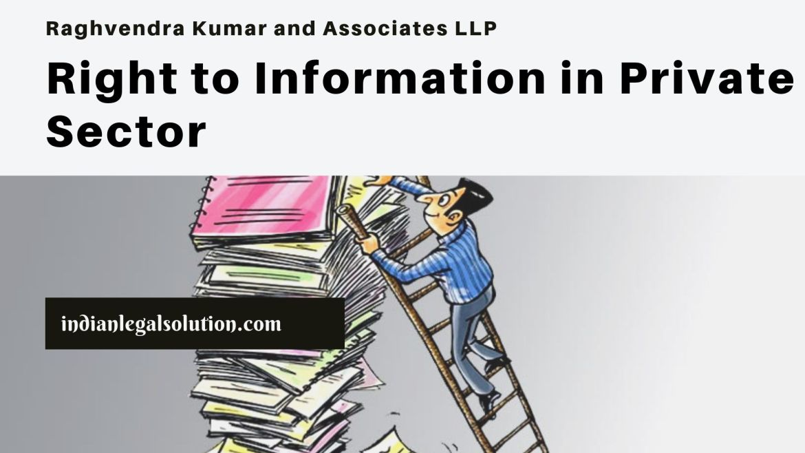 Right to Information in Private Sector